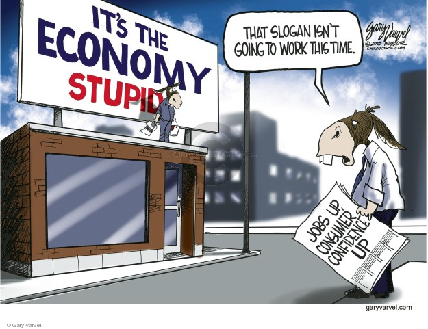 Cartoonist Gary Varvel  Gary Varvel's Editorial Cartoons 2018-03-02 economy