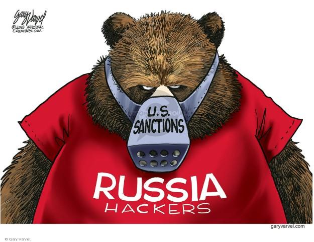 Cartoonist Gary Varvel  Gary Varvel's Editorial Cartoons 2018-03-16 attack