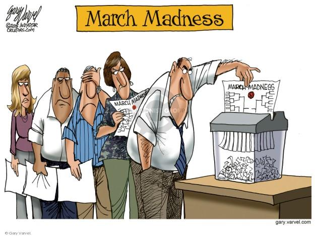 Gary Varvel  Gary Varvel's Editorial Cartoons 2018-03-19 work