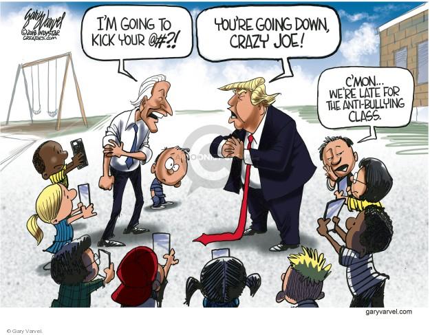 Gary Varvel  Gary Varvel's Editorial Cartoons 2018-03-23 vice president