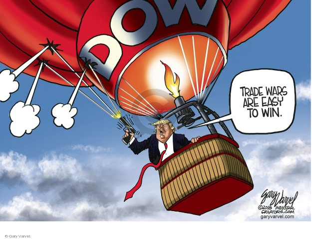 Gary Varvel  Gary Varvel's Editorial Cartoons 2018-04-05 trade war