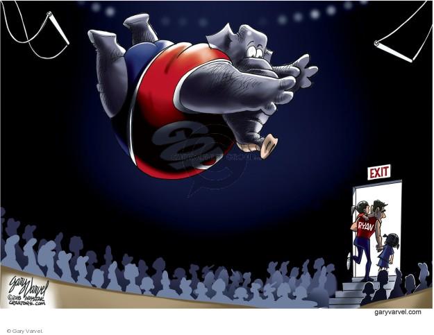 Cartoonist Gary Varvel  Gary Varvel's Editorial Cartoons 2018-04-13 establishment
