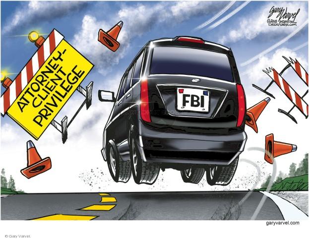 Gary Varvel  Gary Varvel's Editorial Cartoons 2018-04-15 special counsel