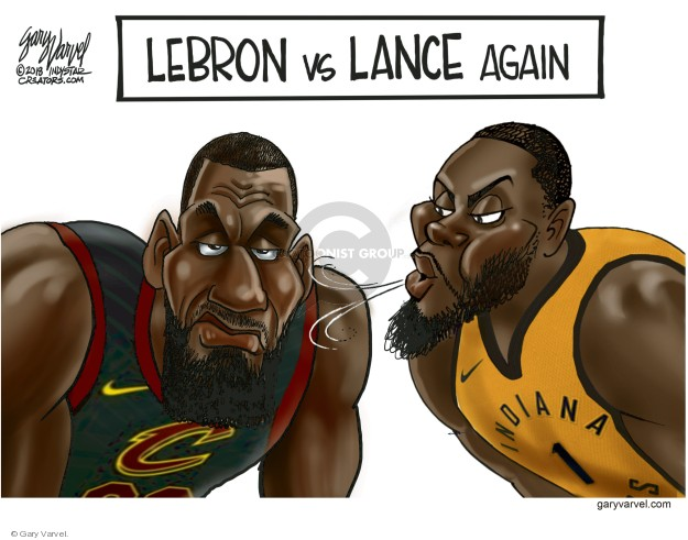 LeBron vs Lance again.