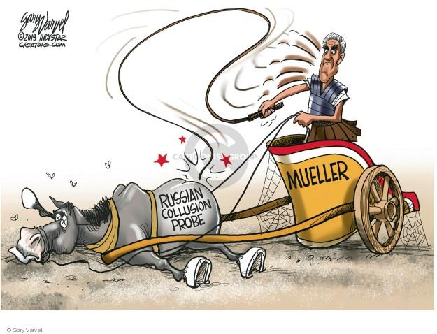 Russian Collusion Probe. Mueller.