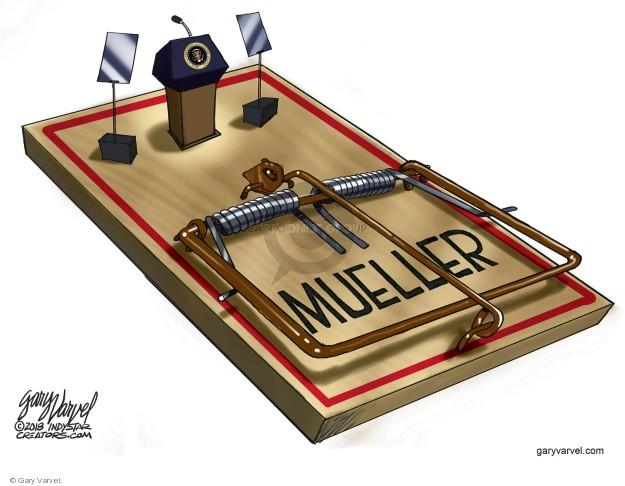 Gary Varvel  Gary Varvel's Editorial Cartoons 2018-05-03 special counsel