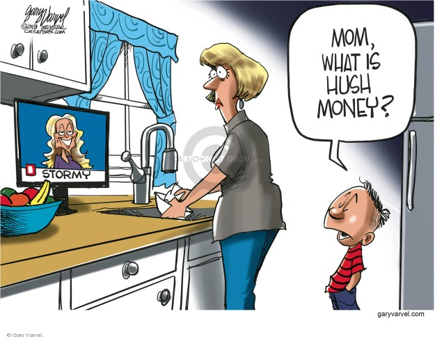 Cartoonist Gary Varvel  Gary Varvel's Editorial Cartoons 2018-05-04 Michael