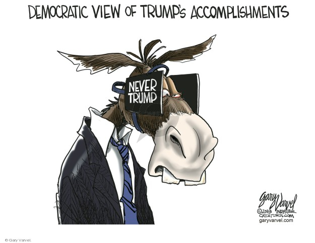 Democratic View of Trumps Accomplishments. Never Trump.