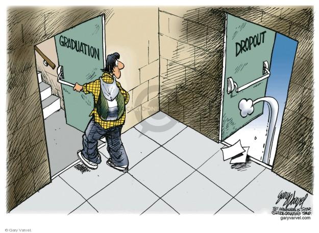 Cartoonist Gary Varvel  Gary Varvel's Editorial Cartoons 2018-05-20 education