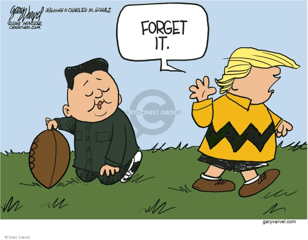 Cartoonist Gary Varvel  Gary Varvel's Editorial Cartoons 2018-05-25 nuclear