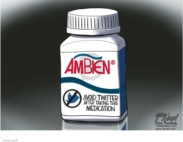 Gary Varvel  Gary Varvel's Editorial Cartoons 2018-05-31 medication