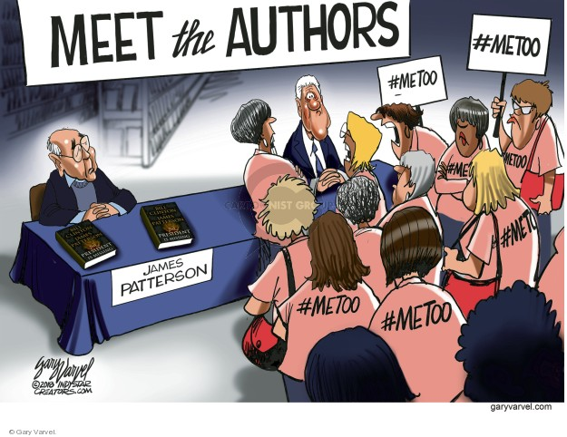 Cartoonist Gary Varvel  Gary Varvel's Editorial Cartoons 2018-06-07 book signing