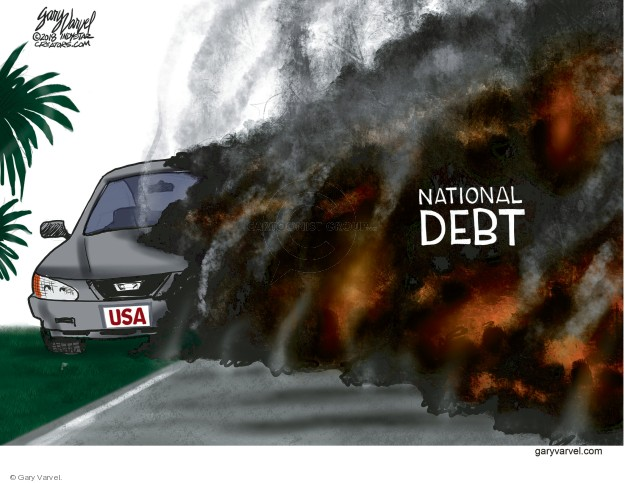 Gary Varvel  Gary Varvel's Editorial Cartoons 2018-06-10 federal budget