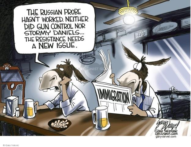 Gary Varvel  Gary Varvel's Editorial Cartoons 2018-06-22 immigration