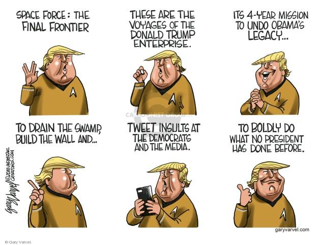 Cartoonist Gary Varvel  Gary Varvel's Editorial Cartoons 2018-06-24 Barack Obama