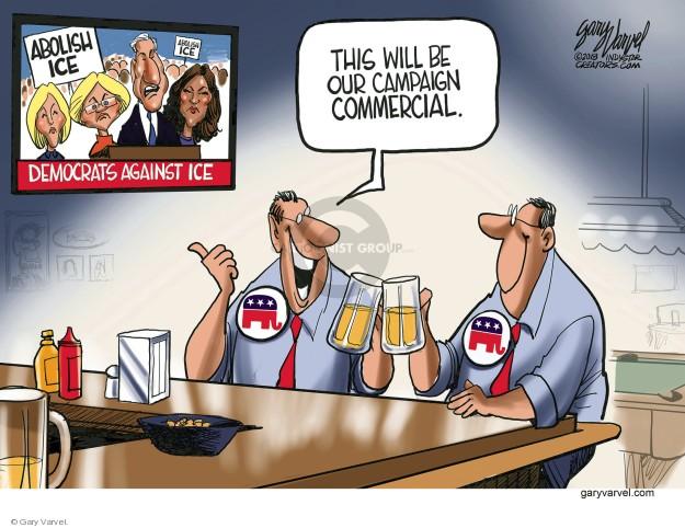 Cartoonist Gary Varvel  Gary Varvel's Editorial Cartoons 2018-07-05 conservative