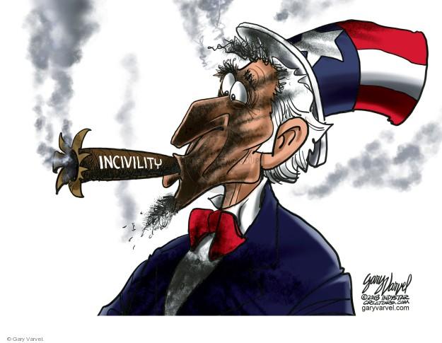 Cartoonist Gary Varvel  Gary Varvel's Editorial Cartoons 2018-07-08 conservative