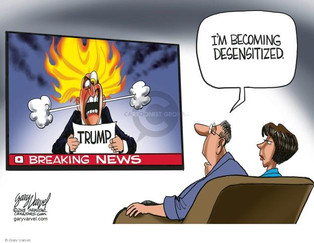 Cartoonist Gary Varvel  Gary Varvel's Editorial Cartoons 2018-07-19 American president