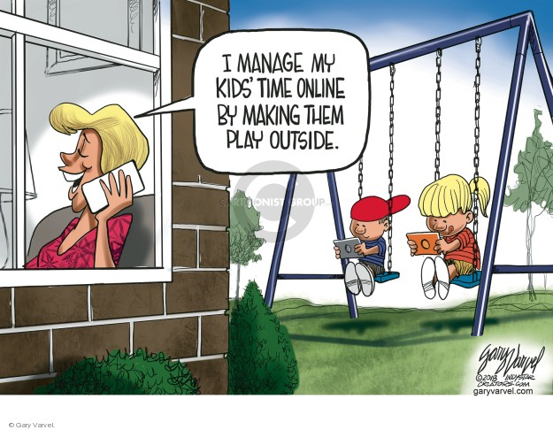 Cartoonist Gary Varvel  Gary Varvel's Editorial Cartoons 2018-08-02 technology