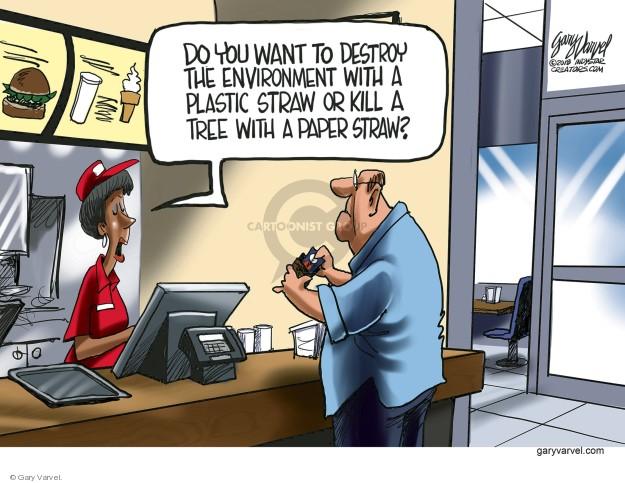 Gary Varvel  Gary Varvel's Editorial Cartoons 2018-08-13 environment