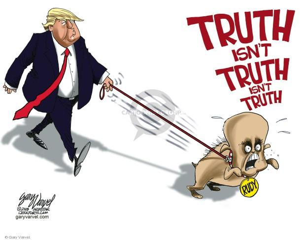 Gary Varvel  Gary Varvel's Editorial Cartoons 2018-08-22 Rudy Giuliani