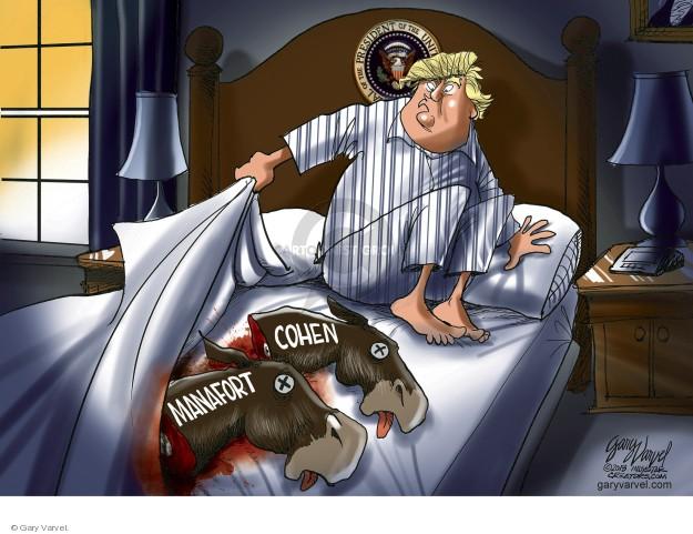 Cartoonist Gary Varvel  Gary Varvel's Editorial Cartoons 2018-08-23 Paul