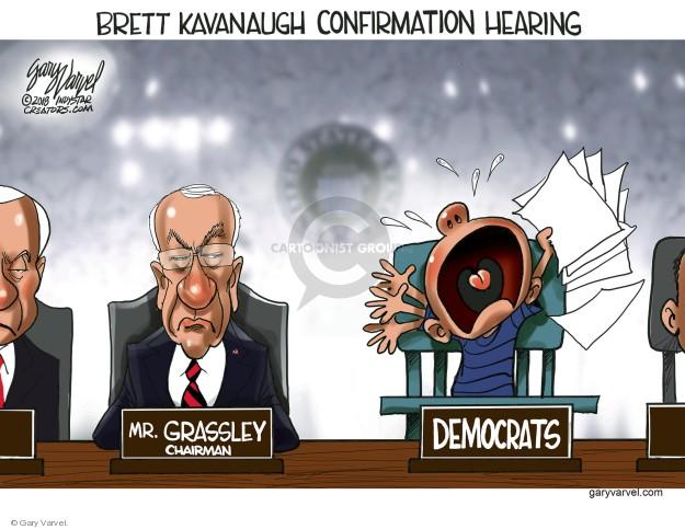Cartoonist Gary Varvel  Gary Varvel's Editorial Cartoons 2018-09-05 open