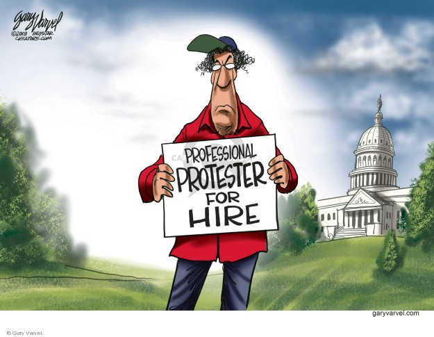 Cartoonist Gary Varvel  Gary Varvel's Editorial Cartoons 2018-09-06 white