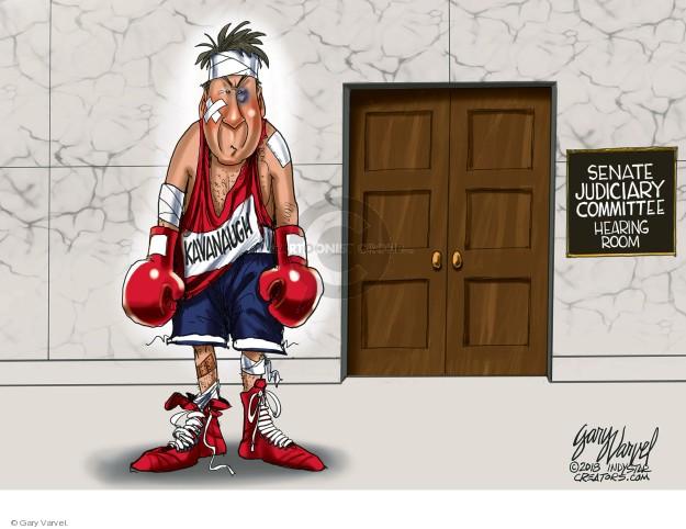 Gary Varvel  Gary Varvel's Editorial Cartoons 2018-09-29 accusation