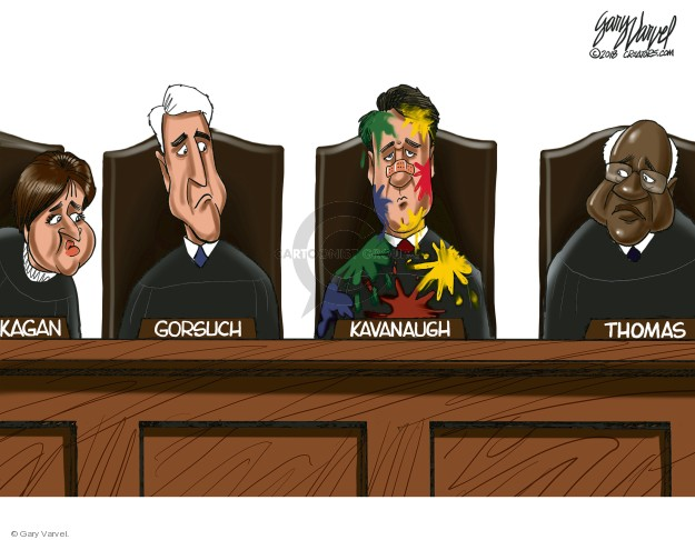 Kagan. Gorsuch. Kavanaugh. Thomas.