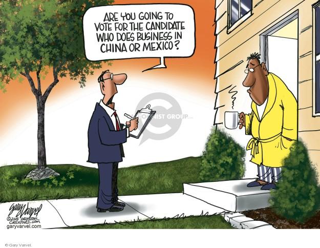 Cartoonist Gary Varvel  Gary Varvel's Editorial Cartoons 2018-10-23 China