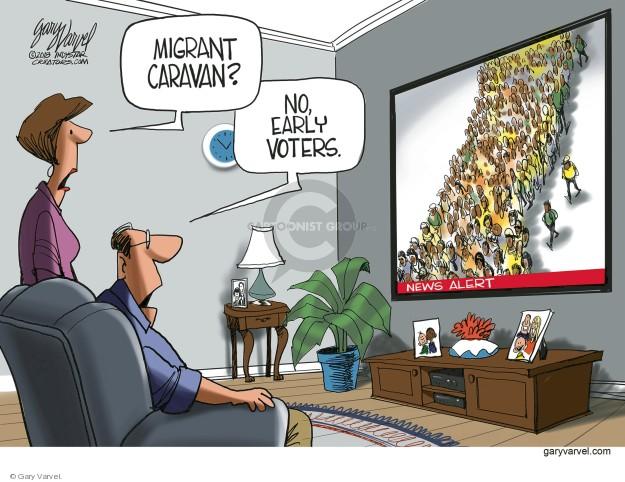 Gary Varvel  Gary Varvel's Editorial Cartoons 2018-10-27 early voter