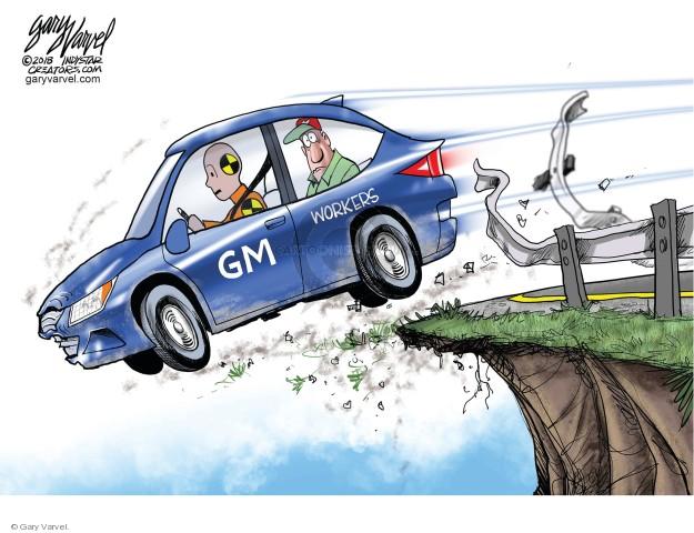 Cartoonist Gary Varvel  Gary Varvel's Editorial Cartoons 2018-11-29 general
