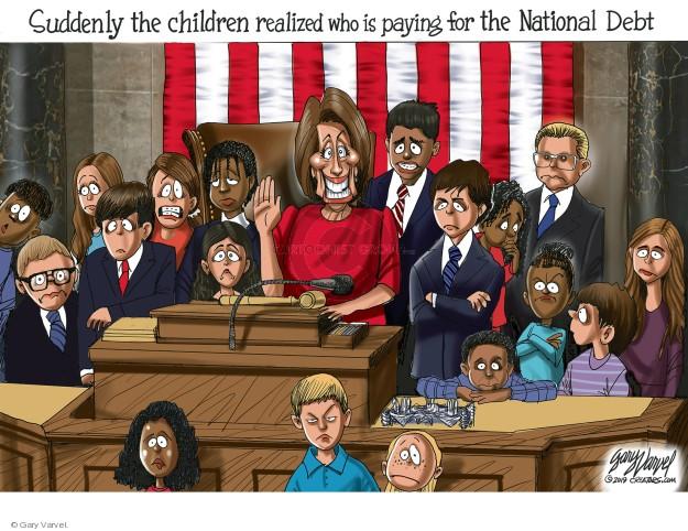 Cartoonist Gary Varvel  Gary Varvel's Editorial Cartoons 2019-01-05 federal