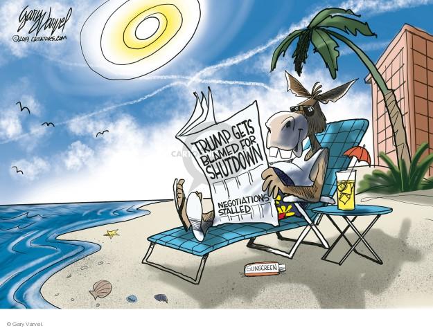 Gary Varvel  Gary Varvel's Editorial Cartoons 2019-01-15 Federal government