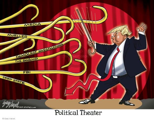Cartoonist Gary Varvel  Gary Varvel's Editorial Cartoons 2019-01-16 American president