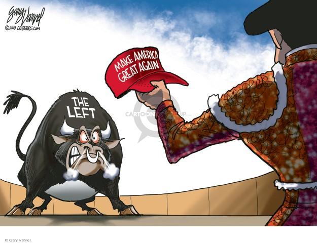 Gary Varvel  Gary Varvel's Editorial Cartoons 2019-01-24 confrontation