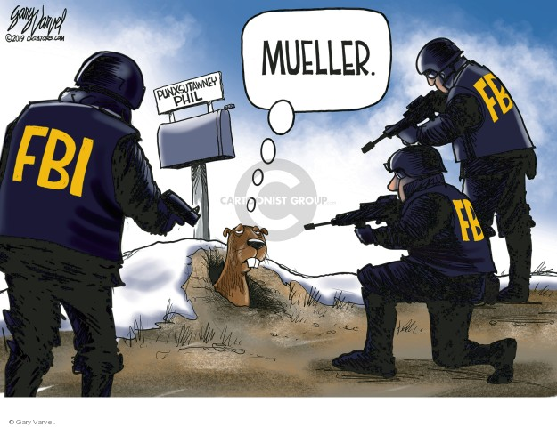 Gary Varvel  Gary Varvel's Editorial Cartoons 2019-02-01 Robert Mueller