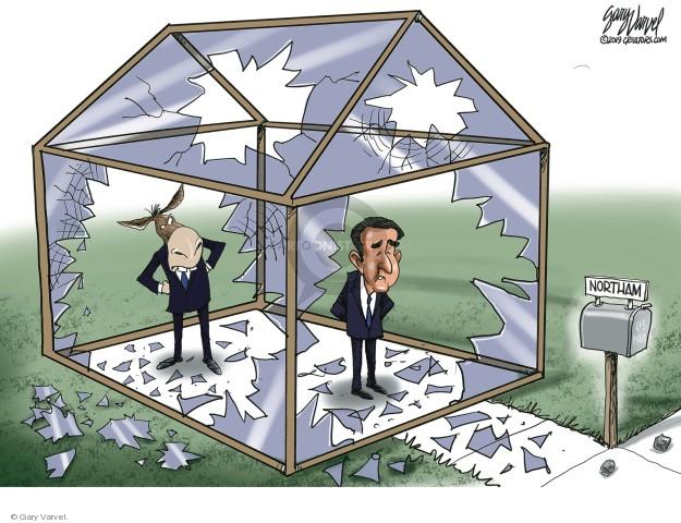 Gary Varvel  Gary Varvel's Editorial Cartoons 2019-02-05 state politician