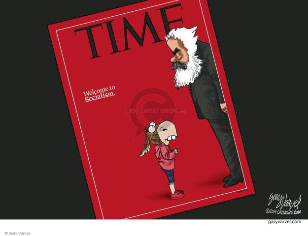 Cartoonist Gary Varvel  Gary Varvel's Editorial Cartoons 2019-02-09 time