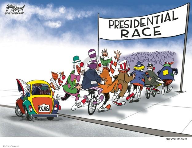 Presidential Race. Dems.