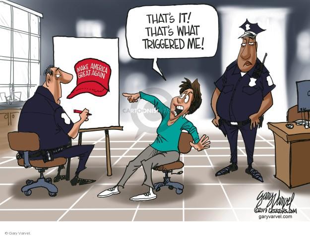 Cartoonist Gary Varvel  Gary Varvel's Editorial Cartoons 2019-02-26 conservative