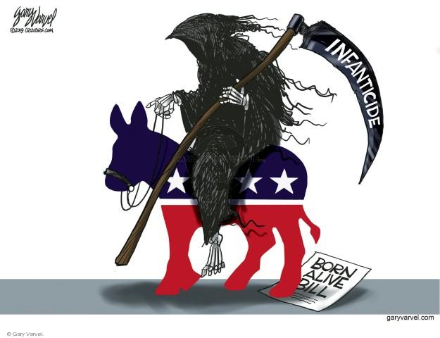Cartoonist Gary Varvel  Gary Varvel's Editorial Cartoons 2019-03-01 rights