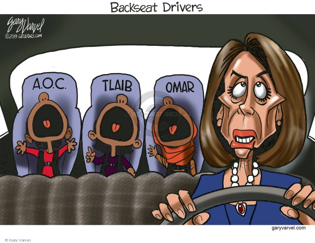 Cartoonist Gary Varvel  Gary Varvel's Editorial Cartoons 2019-03-15 congresswoman