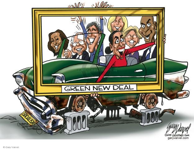 Cartoonist Gary Varvel  Gary Varvel's Editorial Cartoons 2019-03-16 deal