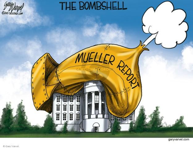 Gary Varvel  Gary Varvel's Editorial Cartoons 2019-03-23 Donald Trump and Robert Mueller