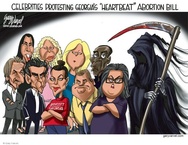 Cartoonist Gary Varvel  Gary Varvel's Editorial Cartoons 2019-04-06 rights