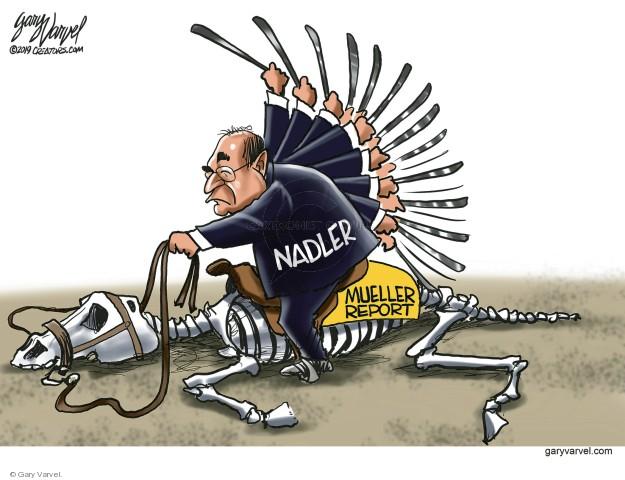 Cartoonist Gary Varvel  Gary Varvel's Editorial Cartoons 2019-04-10 congressman