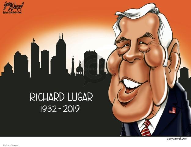 Cartoonist Gary Varvel  Gary Varvel's Editorial Cartoons 2019-04-29 GOP