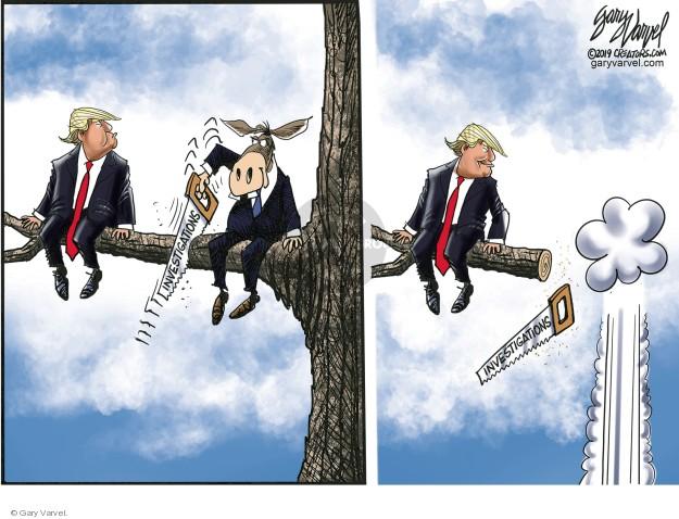 Cartoonist Gary Varvel  Gary Varvel's Editorial Cartoons 2019-05-07 senate